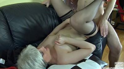 Mature young, Black on blondes