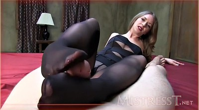 Footjob, Mature pantyhose, Feet pov, Pantyhose footjob, Handjob mature
