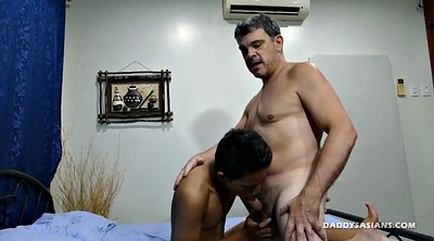 Daddy, Young boy, Asian interracial, Old dad, Asian boy, Asian daddy