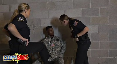 Soldier, Fake tits, Slutty, Milf cops