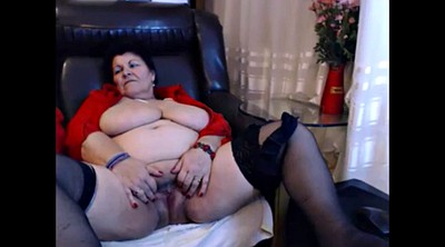 Cam, Granny masturbation, Mature beauty, Big women