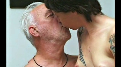 Kissing, Daddy gay, Old grandpa, Grandpa gay, Old man gay, Old men