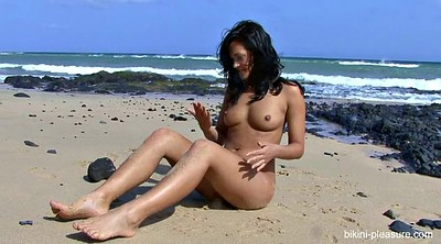 Beach, Outdoor naked
