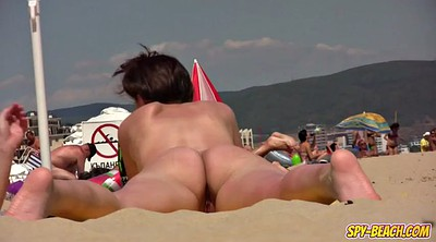 Clit, Nudist beach, Video, Ups