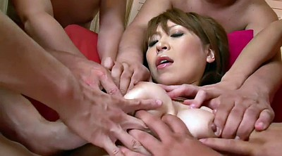 Japanese group, Japanese handjob, Japanese group sex