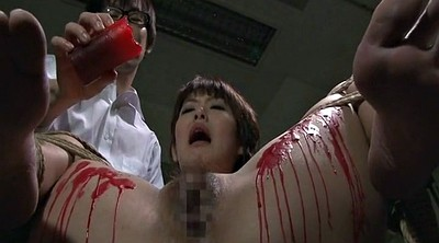 Japanese bdsm, Waxing