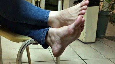 Candid, Girl feet, Relax, Stinky feet, Foot girl, Foot feet