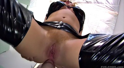 Facesitting, Mistress handjob, Latex mistress, Facesitting femdom