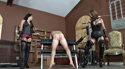 Femdom, Caning, Strapon, Caneing