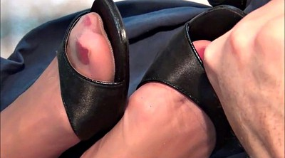Nylon, Nylon feet, Nylon foot, Nylons, Shoes, Stockings feet