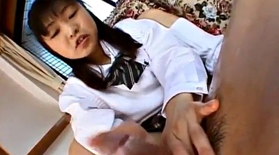 Japanese handjob, Japanese cum, Uniform, Japanese uniform, Japanese teens, Japanese hand