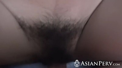 Hairy pussy, Young asian