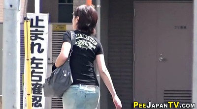 Japanese pee, Outdoor peeing
