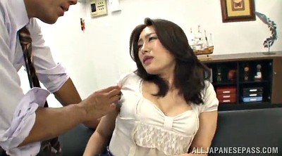 In the office, Asian office, Asian babe
