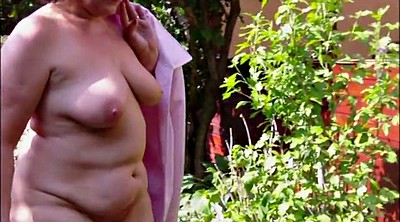 German mature, German granny, Bottomless, Granny german, Outdoor mature