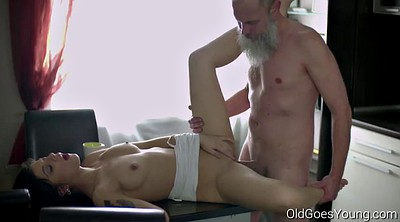 Old man, Old and young, Sexy granny
