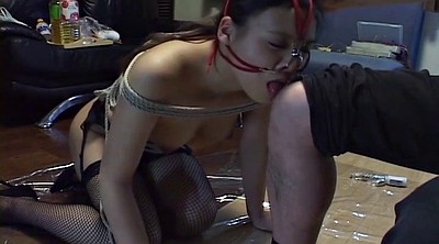 Japanese bdsm, Japanese bondage, Mixed, Mix, Subtitles, Leash