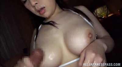 Japanese handjob, Mouth