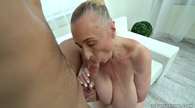 Ancient, Blindfolded, Blindfold, Mature fuck, Granny missionary, Chubby mature