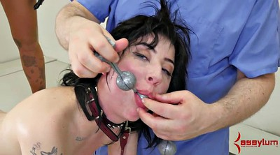 Doctor, Anal gaping, Young rough, Nurses