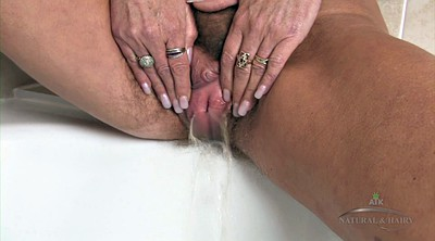 Granny solo, Solo hairy, Mature pussy