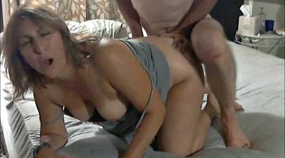Clothed, Milf wife