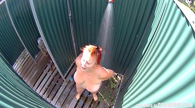 Czech, Shower spy, Mature czech, Shower voyeur, In public, Czech spy
