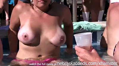 Flashing, Vacation, First time sex