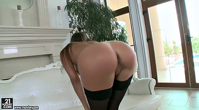 Sex, Shaved pussy, Long dildo