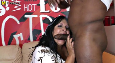 Mature, Granny interracial, Mature interracial, Her mother, Mother fuck