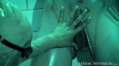 Latex, Suit, Lesbian french, French orgasm, Claudia