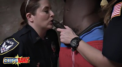 Uniform, Dirty, Milf threesome