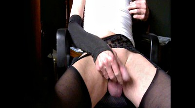 Stocking masturbation