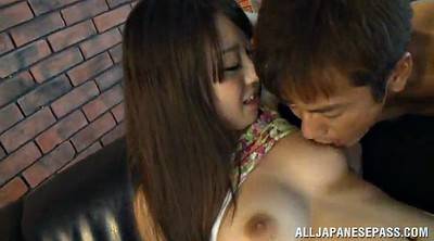 Long hair, Asian cumshot