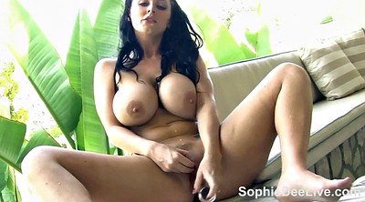 Girl, Huge dildo, Solo girl