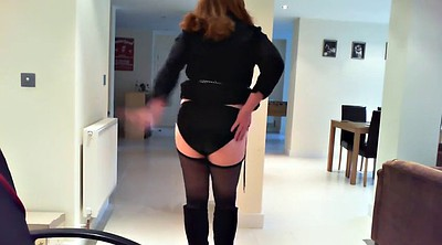 Dress, Stockings solo