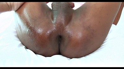 Fat, Small dick, Thai gay, Oil handjob, Asian fat