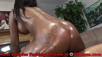 Hot, Black creampie, Ebony homemade