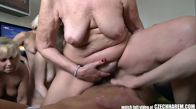 Mature orgy, Amazing, Harem, Mature group, Czech group