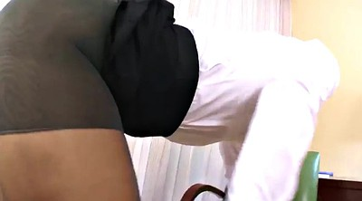 Footjob, Pantyhose foot
