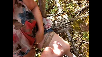 Forest, Upskirt mature