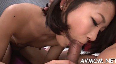 Japanese deep, Cum in throat