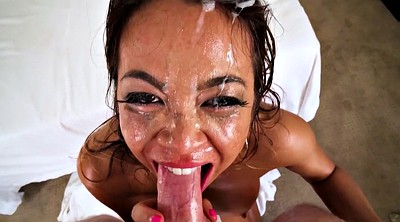 Spit, Asian deepthroat, Spitting