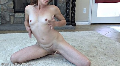 Dancing, Year, Grannies, Solo granny, Solo grannies, Hairy mature masturbation