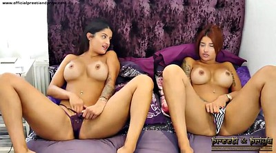 Indian, Indians, Twins, Pussy show, Indian strip