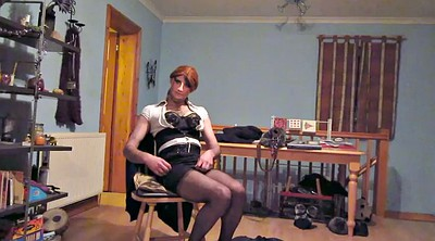 Nylon, Ebony, Suit, Black gay, Skirt, Skirts