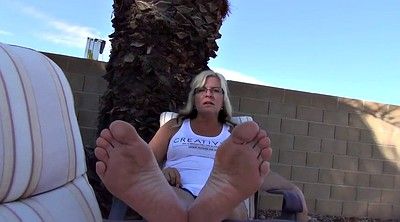 Mature feet, Sole, Milf foot