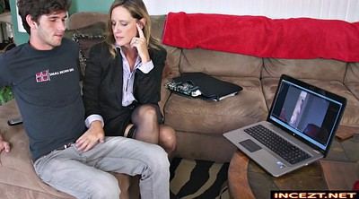 Blackmail, Mother son, Mother and son, Blackmailed, Handjob son, Milf son