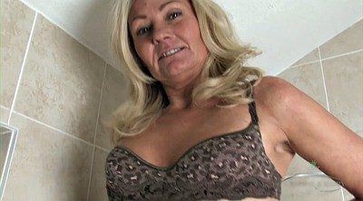 Mature solo, Solo fingering, Hairy mature