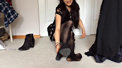 Nylon, Foot fetish, Nylon foot, Nylon feet, Nylon asian, Fetish nylon